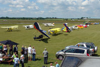 Wickenby Aerodrome Airport, Lincoln, England United Kingdom (EGNW) - View from the Control Tower at Wickenby on 2009 Wings and Wheel Show - by Terry Fletcher