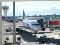 Antalya Airport, Antalya Turkey (LTAI) - View to Gate 65 A - by Holger Zengler