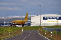Leipzig/Halle Airport, Leipzig/Halle Germany (EDDP) - Southern parts with DHL freighter at the AN 124 ramp  - by Holger Zengler