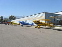 Santa Paula Airport (SZP) - National Bucker Fly-In 2009 - by Doug Robertson