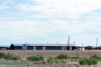 Fort Sumner Municipal Airport (FSU) - Fort Sumner, NM airport - small hangars - by Zane Adams
