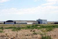 Fort Sumner Municipal Airport (FSU) - Fort Sumner, NM airport - large hangar - by Zane Adams