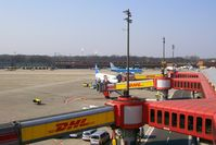 Tegel International Airport (closing in 2011), Berlin Germany (EDDT) - View over the southern gates of TXL - by Holger Zengler