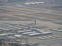 Chino Airport (CNO) - CNO Tower from N406L approach for landing 26R - by Doug Robertson
