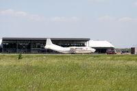 Plovdiv International Airport - Plovdiv-Krumovo International Airport - LBPD - Before the building of the terminal under construction, the EW-269TI register Antonov An-12BP - by Attila Groszvald-Groszi