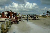 San Pedro Airport - San Pedro Airport, Ambergris Caye Island - by William L.B.J. Dekker