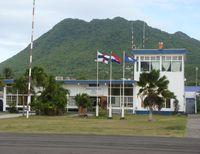 F.D. Roosevelt Airport – Sint Eustatius, Netherlands Antilles,  Netherlands Antilles (TNCE) - The terminal at St Statia - by daniel jef