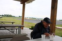 Delaware Municipal - Jim Moore Field Airport (DLZ) - EAA Breakfast fly-in. - by Bob Simmermon