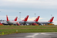 Leeds Bradford International Airport - Jet2 at Leeds Bradford Airport - by Chris Hall
