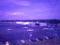 Grand Strand Airport (CRE) - Ramp area, from Strand ATC Tower - by Jon Raines