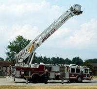 Joint Base Andrews Airport (ADW) - fire truck at Andrews AFB - by J.G. Handelman
