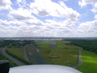 Bradley International Airport (BDL) - On short final runway 24 at Bradley Airport - by Cohen