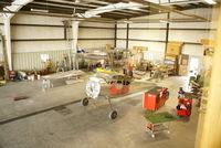 Renner Fld /goodland Muni/ Airport (GLD) - Rebuilding C195s - by Allen M. Schultheiss