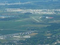 Campbell Airport (C81) - Looking west from 3000' - by Bob Simmermon