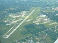 Waukegan Regional Airport (UGN) - Looking south from 3500' - by Bob Simmermon
