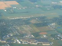 Van Wert County Airport (VNW) - Looking south from 4500' - by Bob Simmermon