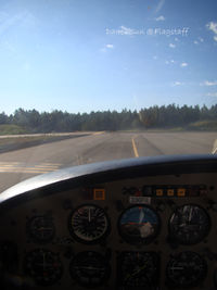 Flagstaff Pulliam Airport (FLG) - hold short - by Dawei Sun
