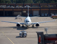 Tegel International Airport (closing in 2011), Berlin Germany (EDDT) - Show down at gate no. 12 - by Holger Zengler