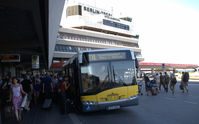 Tegel International Airport (closing in 2011), Berlin Germany (EDDT) - At the bus station at Terminal A - by Holger Zengler