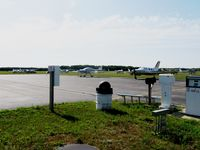 Wautoma Municipal Airport (Y50) - The ramp in Wautoma, WI. Most of these planes are parked here for EAA AirVenture, then drive over to OSH. This is a very nice airport, the picnic/spotting area in the foreground really stood out to me, looks like a great place to sit and watch planes. Too - by Kreg Anderson
