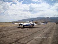 Cedar City Regional Airport (CDC) - refuel @ Cedar City (CDC) - by Dawei Sun