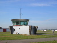 Hilversum Airport, Hilversum Netherlands (EHHV) - Hilversum Aerodrome , Tower - by Henk Geerlings
