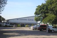 Hilversum Airport - Hilversum Aerodrome , hangar Flying school - by Henk Geerlings
