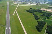 Mansfield Lahm Regional Airport (MFD) - Looking down RWY 14 - by Bob Simmermon