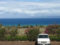 Kapalua Airport (JHM) - The view of the Pacific Ocean from Kapalua Airport in Lahaina, HI. - by Kreg Anderson