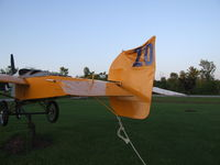 Mesmer Airport (NY49) - Custom vertical Stabilizer- indicative of Bob's sense of humor - by Jim Uber