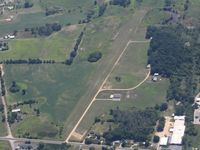 Shamrock Fld Airport (6G8) - Looking SE from 5500' - by Bob Simmermon