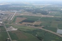 Findlay Airport (FDY) - Looking NE - by Bob Simmermon