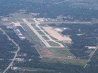 Toledo Express Airport (TOL) - Looking east from 5500' - by Bob Simmermon