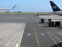 Honolulu International Airport (HNL) - A road for airport vehicles at HNL - by Kreg Anderson
