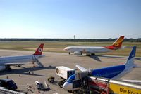 Tegel International Airport (closing in 2011), Berlin Germany (EDDT) - Arriving of a chinese friendly dragon - by Holger Zengler