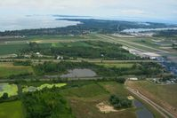 Carl R Keller Field Airport (PCW) - Looking NE, Put-In-Bay Island beyond - by Bob Simmermon