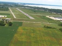 Carl R Keller Field Airport (PCW) - Base for 27 - by Bob Simmermon