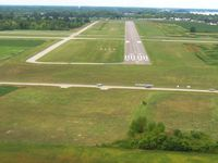 Carl R Keller Field Airport (PCW) - Final 27 - by Bob Simmermon