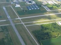 Carl R Keller Field Airport (PCW) - Looking east - by Bob Simmermon