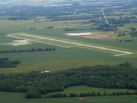 Sandusky County Regional Airport (S24) - Looking east - by Bob Simmermon