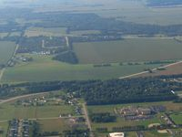 Brodhead Airport (C37) - Looking south - by Bob Simmermon