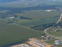 Brodhead Airport (C37) - Looking SW - by Bob Simmermon