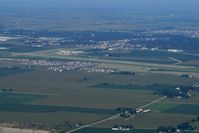 De Kalb Taylor Municipal Airport (DKB) - Looking SW - by Bob Simmermon