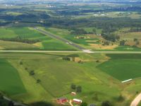 Iowa County Airport (MRJ) - Looking west - by Bob Simmermon