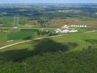 Iowa County Airport (MRJ) - Looking down RWY 29 - by Bob Simmermon