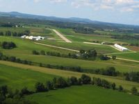 Iowa County Airport (MRJ) - Base for RWY 22 - by Bob Simmermon