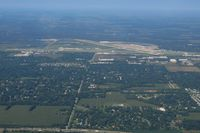 Chicago/rockford International Airport (RFD) - Looking west - by Bob Simmermon