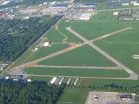 Smith Field Airport (SMD) - Construction work - looking SW - by Bob Simmermon