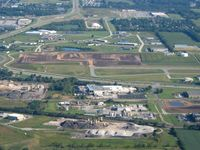 Porter County Regional Airport (VPZ) - New construction - looking north - by Bob Simmermon