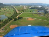 Gallia-meigs Regional Airport (GAS) - Final for RWY 5 - by Bob Simmermon